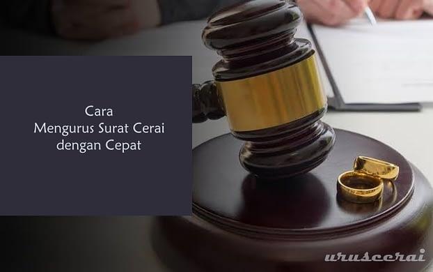 Cara Mengurus Surat Cerai dengan Cepat